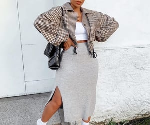 accessories, street style, and white boots image