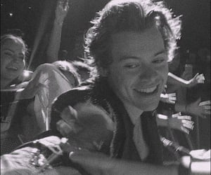 Harry Styles, harry, and black and white image
