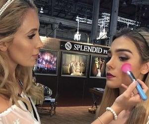 bridal, eyeliner, and Modelling image