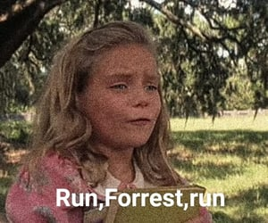 cult, forrest gump, and movie quote image