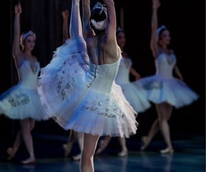 ballerina, ballet, and costumes image