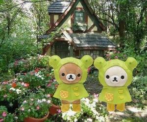 cottage, kawaii, and plants image