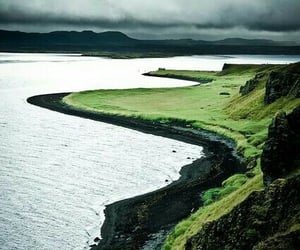 nature, sea, and green image