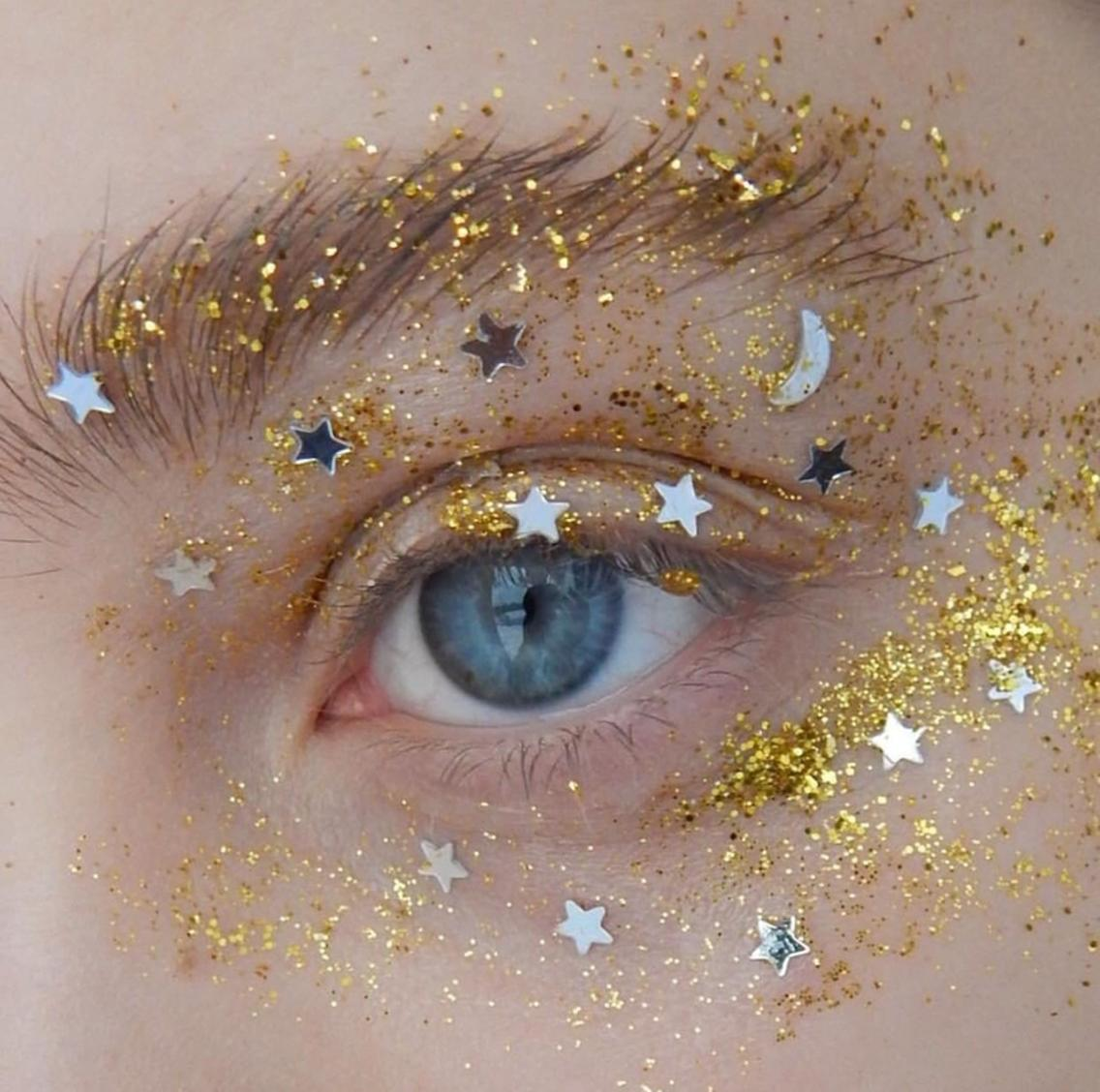 Starry Eye Makeup Discovered By