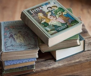 bibliophile, books, and little women image