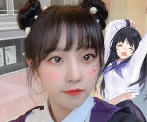 aesthetic, anime girl, and blush image