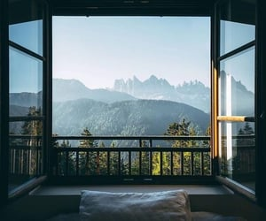 nature, view, and mountains image