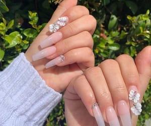 nails, nails art, and uñas image