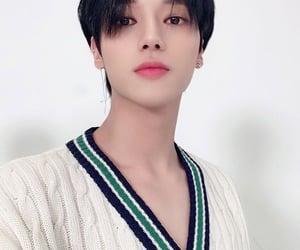 black hair, yunho, and long hair image