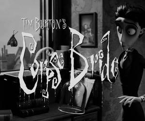 corpse bride, movie, and tim burton image