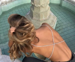 backless, dress, and party look image