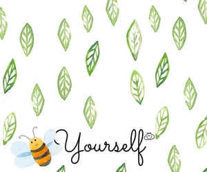background, bee, and beautiful image