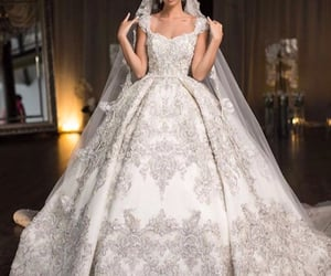 Couture, bride, and fairytale image
