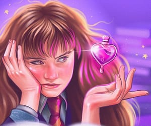 amortentia, harry potter, and hermione granger image