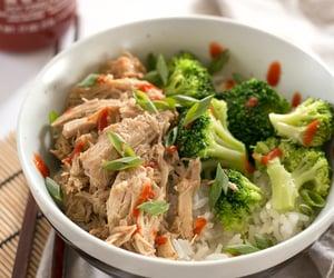 food, healthy, and broccoli image