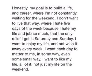 life, quotes, and goals image