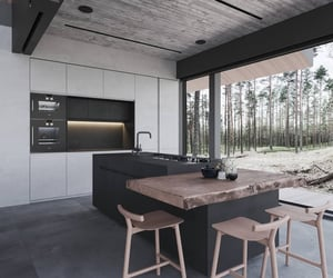 architecture, kitchen, and design image