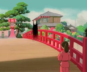 anime, wallpaper, and spirited away image