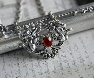jewelry and red image