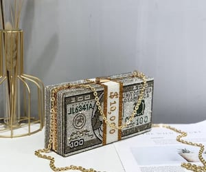 expensive, fashion, and gold image