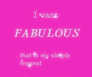 fabulous, glitter, and pink image