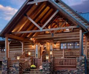 cabin and chalet image