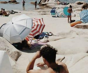 beach, Greece, and life image