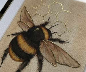 animals, art, and bee image