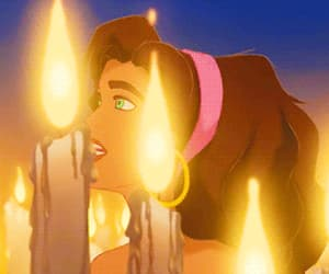 candle, outcasts, and disney image