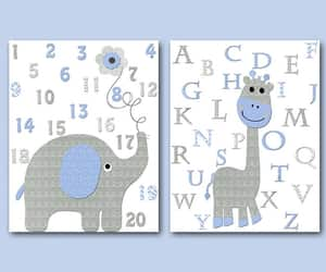 etsy, giraffe decor, and giraffe canvas image