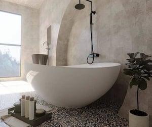 bathroom, beautiful, and decor image