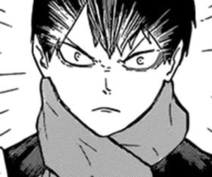 manga, monochrome, and haikyuu image