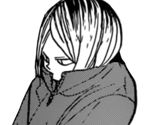 manga, haikyuu, and kenma image