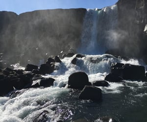 beauty, iceland, and nature image