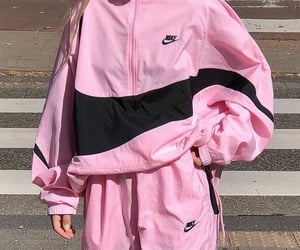 pink, nike, and clothes image