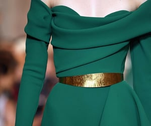 dress, haute couture, and elie saab image