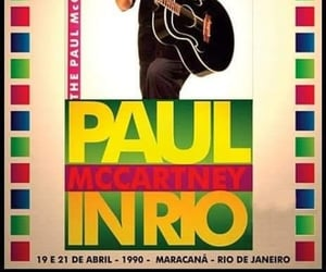 Paul McCartney, rio, and the beatles image