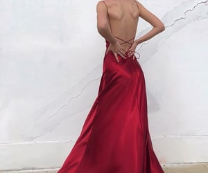 backless dress, outfit of the day ootd, and summer spring look image