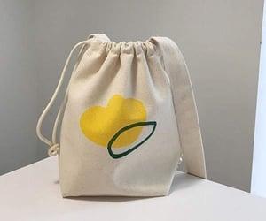 aesthetic, bag, and drawstring image