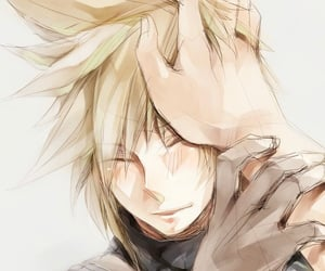 cloud strife, final fantasy VII, and final fantasy 7 image