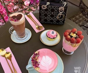 coffee, dessert, and sweet image