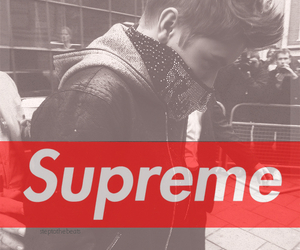 supreme, justin bieber, and swag image