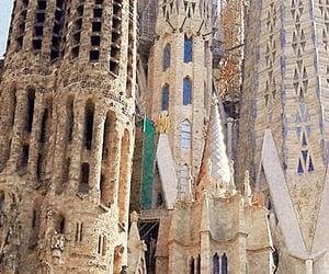 Barcelona, Sagrada Familia, and spain image