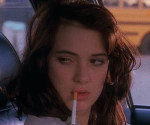 winona ryder, Heathers, and cigarette image