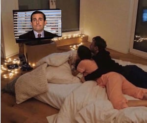 couple, mood, and the office image