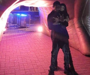 kylie jenner and travis scott image