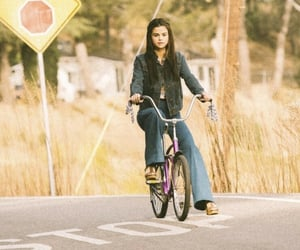 beautiful, bike, and selena gomez image