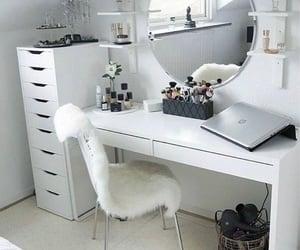 beauty, desk, and elegance image