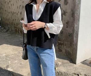 aesthetic, korean fashion, and ulzzang image