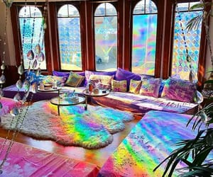 colorful, home, and rainbow image